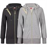 PUMA Damen Kapuzen Sweatjacke Hooded Script