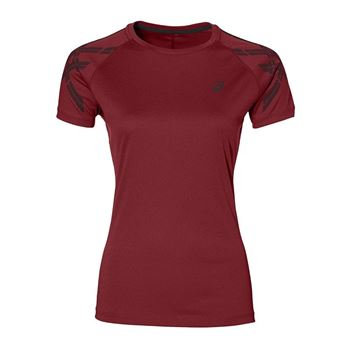 Asics Stripe Top Tee T-Shirt Running Damen F0699
