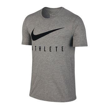 Nike Dri-FIT Swoosh T-Shirt Running Grau F063