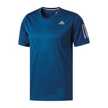 adidas Response Tee T-Shirt Running Blau