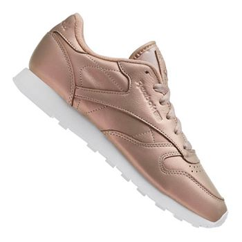 Reebok Classic Leather Pearlized Damen Rosa Weiss