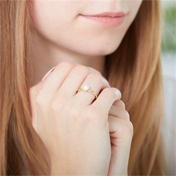 Diamantring 585er Gold DR0433