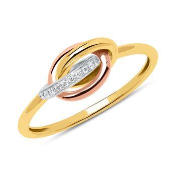 Diamantring 585er Gold DR0434