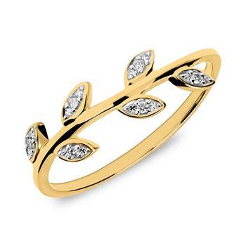 Diamantring 585er Gold DR0439