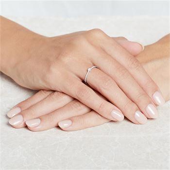 Verlobungsring 585er Weißgold VR0334
