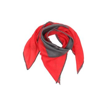 Abstract Cashmere Schal Bandana Red 65 x 65 cm
