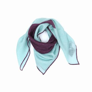 Abstract Cashmere Schal Mint Bandana 65 x 65 cm