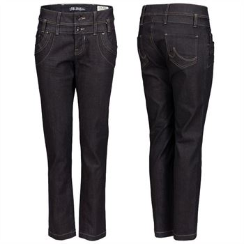 LTB Damen Jeans Amber schwarz