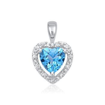 Diamantanhänger 585er Gold-W DP0122 - SL