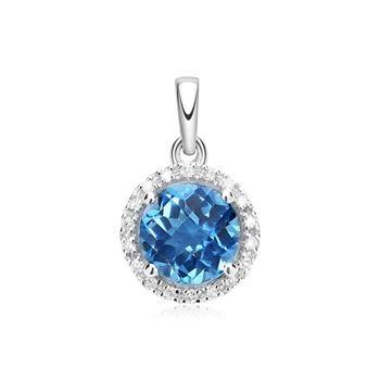 Diamantanhänger 585er W-Gold DP0134 - SL