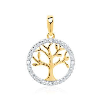 Diamantanhänger 585er Gold DP0182 - SL