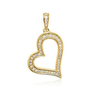 Diamantanhänger 585er Gold DP0198 - SL