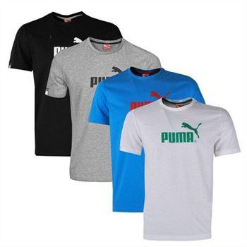 Puma Herren T-shirt Large No.1 Logo Tee