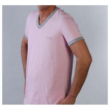 Dolce & Gabbana Herren T-Shirt Schwarz oder Rosa