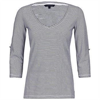 Tommy Hilfiger Damen T-Shirt Gridley