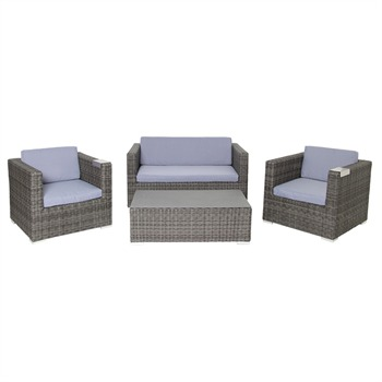 acamp Sicilia Lounge Set 4-teilig