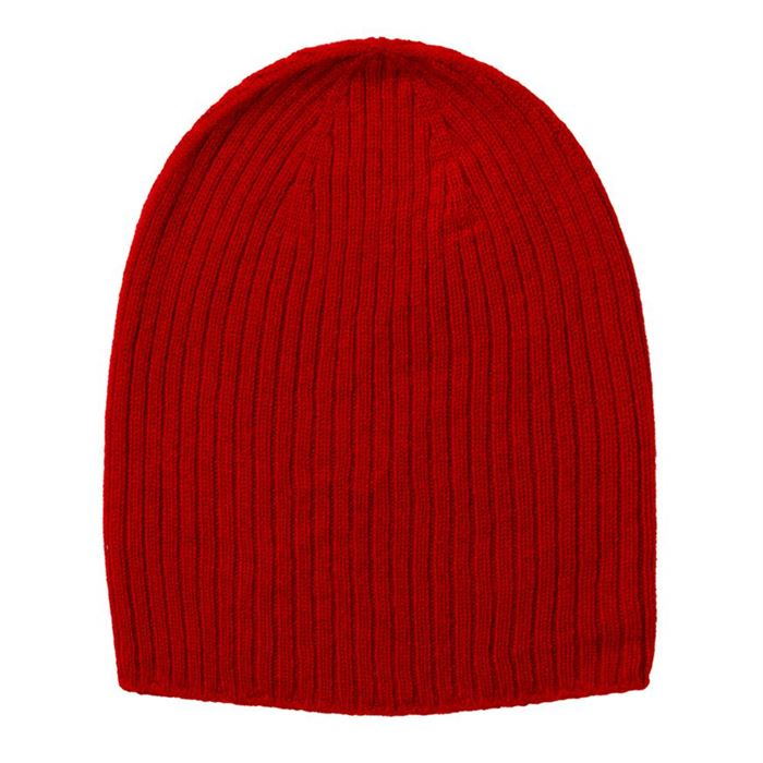 Johnstons of Elgin Cashmere Ribbed Hat