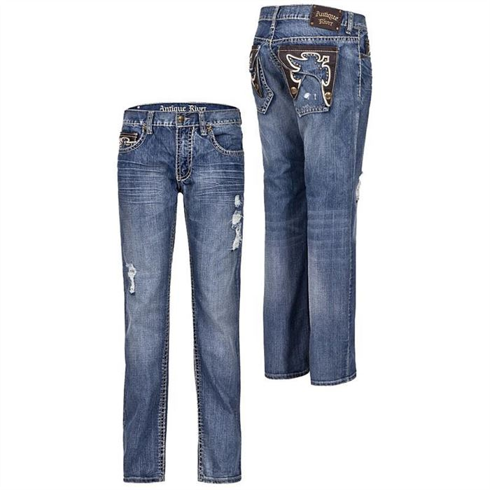 Antique Rivet Herren Jeans Ashton